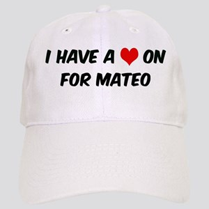 Heart on for Mateo Cap