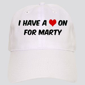 Heart on for Marty Cap