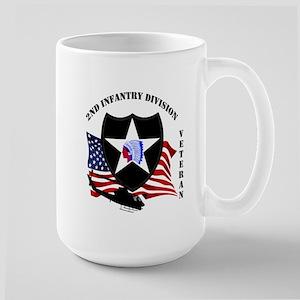 2nd Infantry Division aka Indian Head Division Mug