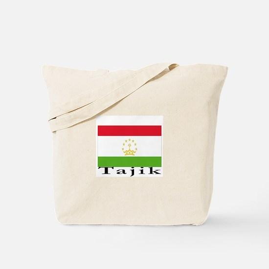 Tajikistan Tote Bag