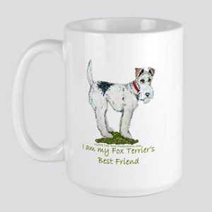Wire Fox Terrier Large Mug