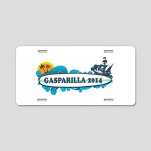 Tampa Florida - Surf Design. Aluminum License Plat