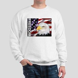 Freedom Flag & Eagle Sweatshirt