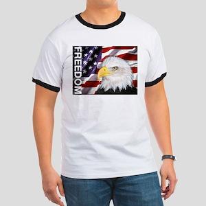 Freedom Flag & Eagle T-Shirt