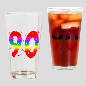 Confetti Rainbow 90 Drinking Glass