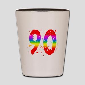 Confetti Rainbow 90 Shot Glass