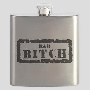 Bad Bitch Stamp Flask