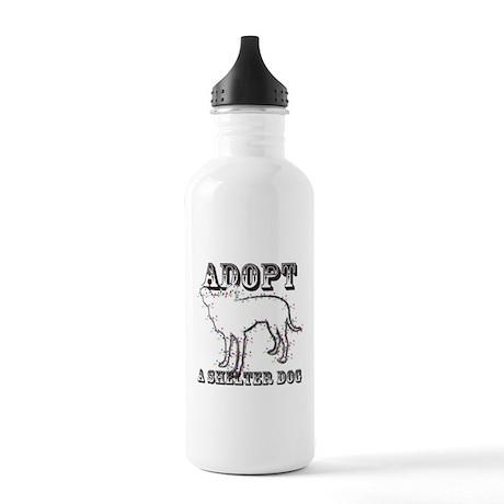 """Adopt A Shelter Dog """"Zuni"""" Water Bottle"""