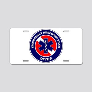 ERT Diver 1 Aluminum License Plate