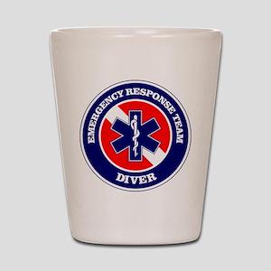 ERT Diver 1 Shot Glass