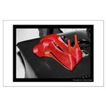 Red Shoe Still Life - Digital Photography Posters