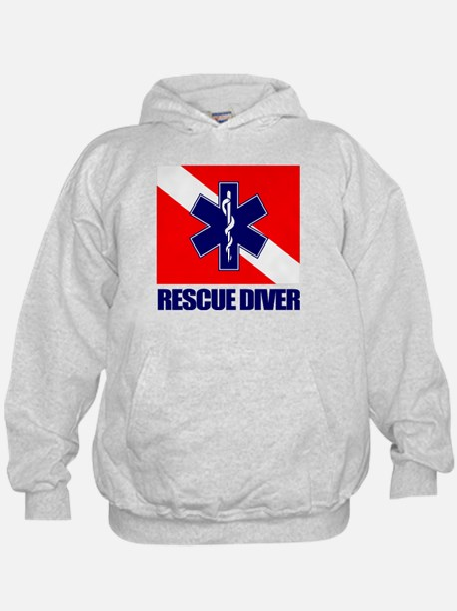 Rescue Diver (emt) Hoodie