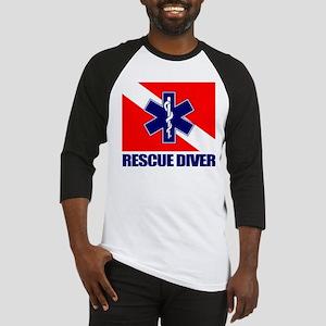 Rescue Diver (emt) Baseball Jersey