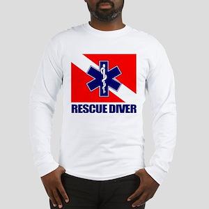 Rescue Diver (emt) Long Sleeve T-Shirt