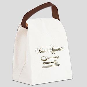 Bon appetite Canvas Lunch Bag