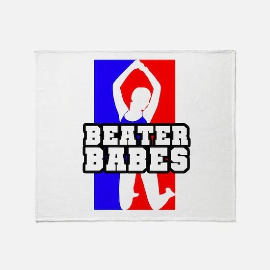 Beater Babes Throw Blanket