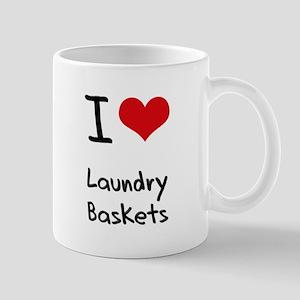 I Love Laundry Baskets Mug