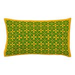 Green Stars Pillow Case