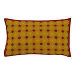Yellow Shells Pillow Case