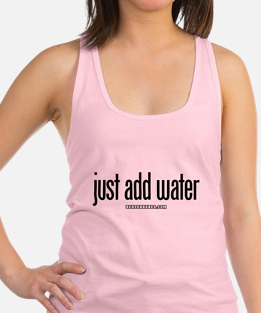 10x10_apparel just add water.png Racerback Tank To