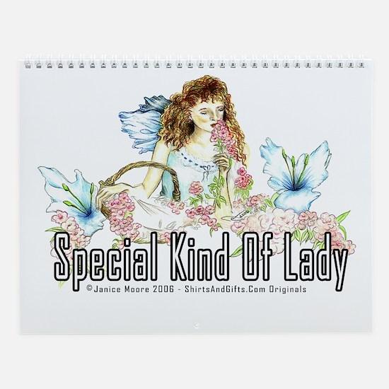Special Lady Wall Calendar