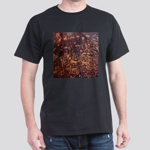 Newspaper Rock Petroglyph Dark T-Shirt