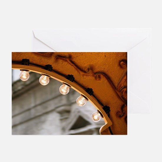 Carrousel Lights Greeting Cards (Pk of 10)