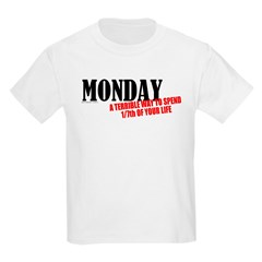 Mondays Are Terrible Kids T-Shirt