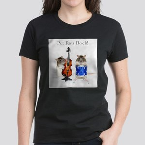 Musical Twins Rats Rock Women's T-Shirt