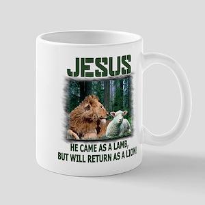 Jesus, Lion & Lamb Mug