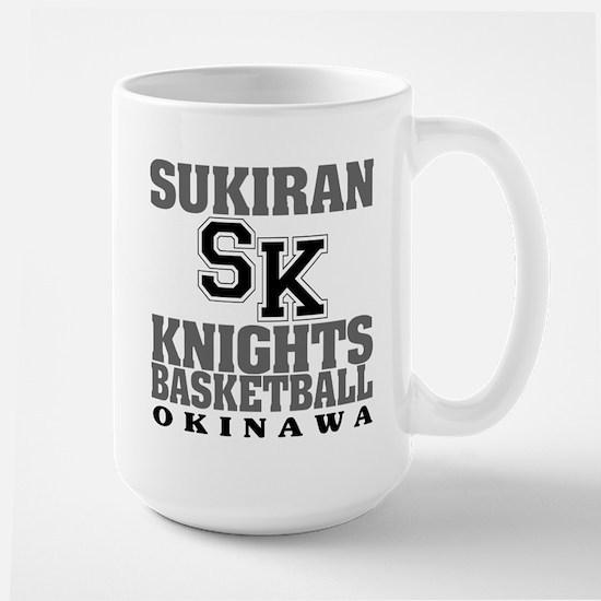 Knights Basketball Large Mug