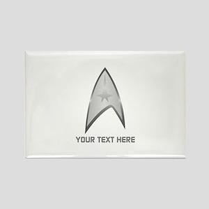 Star Trek Symbol Personalized Rectangle Magnet