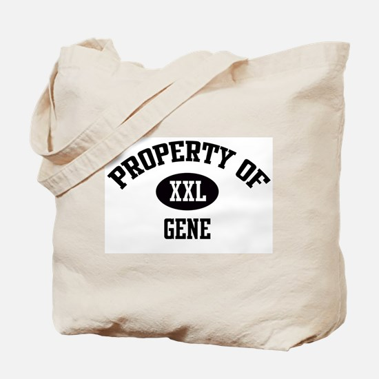 Property of Gene Tote Bag