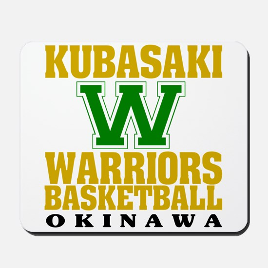Warriors Basketball Mousepad