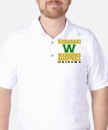 Warriors Basketball Golf Shirt