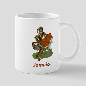 Vintage Jamaica Travel Mug