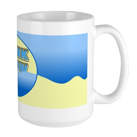 Think Snow Snowdrifts Large Mug