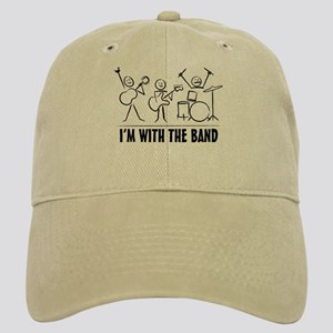 Stick man band Cap