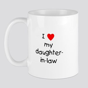 I love my daughter-in-law Mug