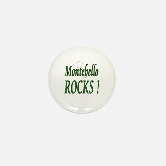 Montebello Rocks ! Mini Button