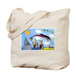 Coconuts Comics Shop Tote Bag: Color Banner