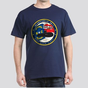 USS (PCU) North Carolina SSN 777 Dark T-Shirt