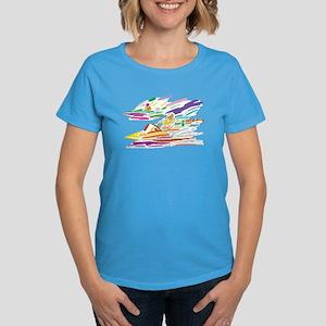 Speed Boating Women's Dark T-Shirt