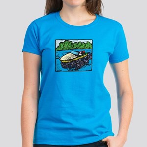 Motor Boat Women's Dark T-Shirt