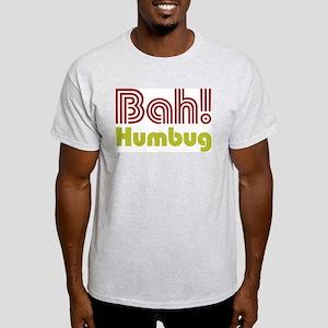 Bah Humbug Ash Grey T-Shirt