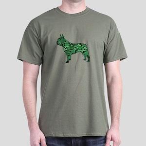 Snake Frenchie Dark T-Shirt