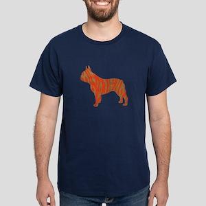 Tiger Frenchie Dark T-Shirt