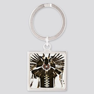 Native American Feathers Keychains