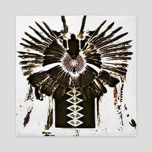 Native American Feathers Queen Duvet