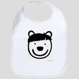 Moe Hair Bear Bib